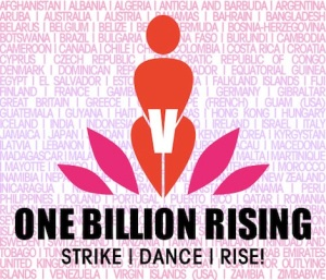 One Billion Rising! (Image from onebillionrising.org)