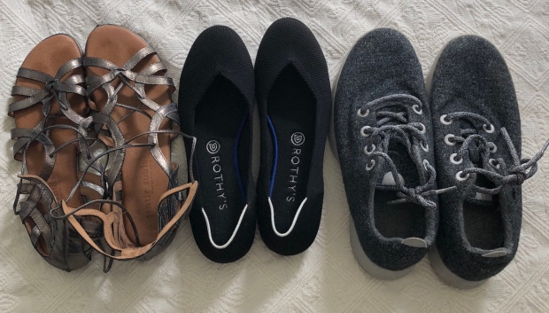 3 shoes for summer in Scotland